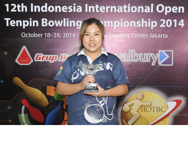 <a class='boldnavtext' href='results/12thindo-res.htm#Step'>Hong Kong women takes second runner-up</a><span class='plaintext'><br><b>26th October, Jakarta</b>: 2013 Asian Youth bronze medalist, Joan Cheng of Hong finished a creditable second runner-up of the Women's Open Masters finals at the 12th Indonesia International Open<br>Bowling Championships on Sunday.</span>