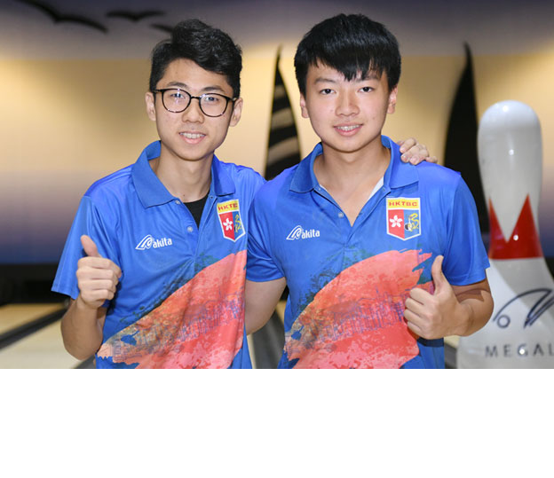<a class='boldnavtext' href='results/18thasbc-res.htm#BODbl'>Bronze medal for Hong Kong</a><span class='plaintext'><br><b>14th November, Kuching</b>: Singles gold medallist, Ivan Tse and Alex Yu picked up the Boy's Doubles bronze medal at the 18th Asian School Tenpin Bowling Championships after finishing third as Callum Borck and Lachlan Stephenson won the gold for Australia A team.