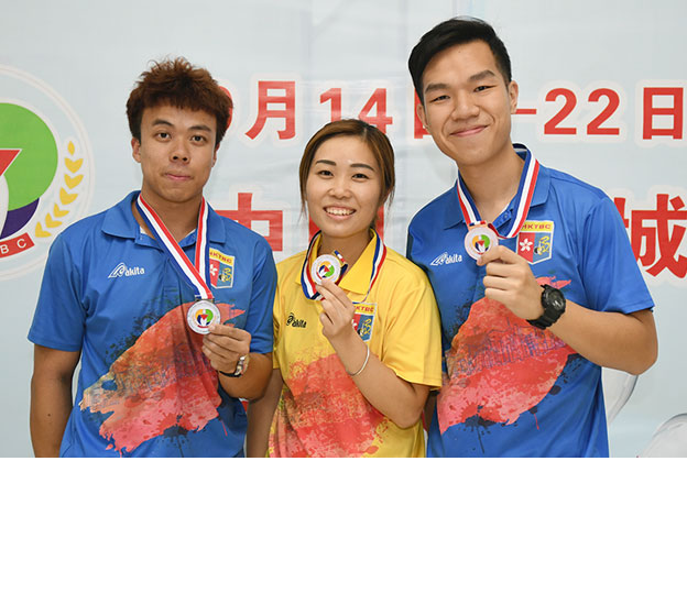 <a class='boldnavtext' href='results/28theac-res.htm#Sgl'>Hong Kong wins Singles gold, silver and bronze</a><span class='plaintext'><br><b>16th September, Yancheng</b>: Topseed, Milki Ng of Hong Kong won the Women's Singles gold medal<br>while James Lui and Ernest Kwok picked up the Men's Singles Silver and Bronze medals at the 28th<br>East Asian Tenpin Bowling CHampionships on Sunday.