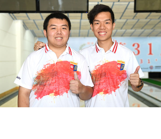 <a class='boldnavtext' href='results/31staibc-res.htm#Nov08'>Hong Kong leads Doubles first squad</a><span class='plaintext'><br><b>8th November, Yancheng</b>: Singles silver medallist and first perfect gamer, Ernest Kwok of Hong Kong 1 partnered last year's Singles and All Events gold medallist, Jimmy Cheung to lead the Men's Doubles Squad A at the 31st Asian Intercity Bowling Championships.