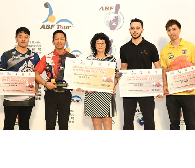 <a class='boldnavtext' href='results/abf-hkg18.htm'>Podium for Hong Kong national</a><span class='plaintext'><br><b>1st July, Hong Kong</b>: 2017 World Championships Trios gold medallist, Michael Mak of Hong Kong finished on the podium as third runner-up at the ABF Tour Hong 2018 as Indonesia's Ryan Lalisang captured his tenth tour tile on Sunday.