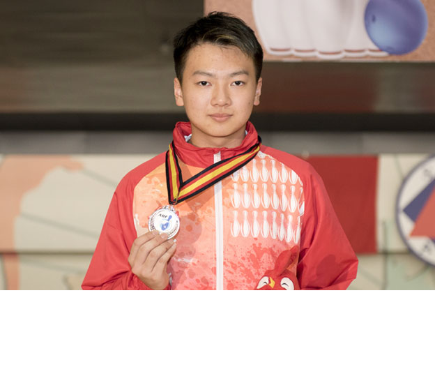 <a class='boldnavtext' href='results/asbc2017-res.htm#Step'>Hong Kong wins fourth silver</a><span class='plaintext'><br><b>6th May, Hong Kong</b>: Top seed, Ivan Tse of Hong Kong Team A was denied his second gold medal of<br>the 17th Asian School Tenpin Bowling Championships after losing to second-seed, Mostafa Almousawi, 402-477 in the Boy's Stepladder finals at SCAA Bowling Centre.