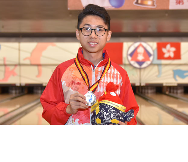 <a class='boldnavtext' href='results/asbc2017-res.htm#Singles'>Silver medal for Hong Kong</a><span class='plaintext'><br><b>2nd May, Hong Kong</b>: 2016 East Asian Championships Doubles silver medallist, Alex Yu earned host<br>and Hong Kong Team A its first medal at the 17th Asian School Tenpin Bowling Championships in the Boy's Singles event.