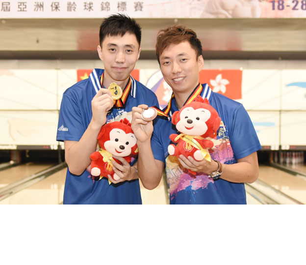 <a class='boldnavtext' href='results/atbc2016-res.htm#MOBlk2'>Hong Kong nationals eyeing fourth gold</a><span class='plaintext'><br><b>26th September, Hong Kong</b>: Triple gold medallist, Michael Mak and two-gold medallist, Wu Siu Hong are eyeing for a fourth gold medal for Hong Kong at the Target 24th Asian Tenpin Bowling<br>Championships after finishing second in the Men's Masters Block 1 finals on Monday.
