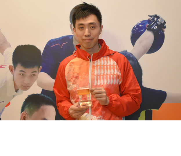 <a class='boldnavtext' href='results/chinaopen16-res.htm#Step'>Another podium for Mak</a><span class='plaintext'><br><b>12th October, Shanghai</b>: 2016 Asian Championships triple gold medallist, Michael Mak finished as second runner-up in the Men's Open Masters of the China International Open 2016 which concluded<br>on Wednesday at Hao's Bowling Centre.