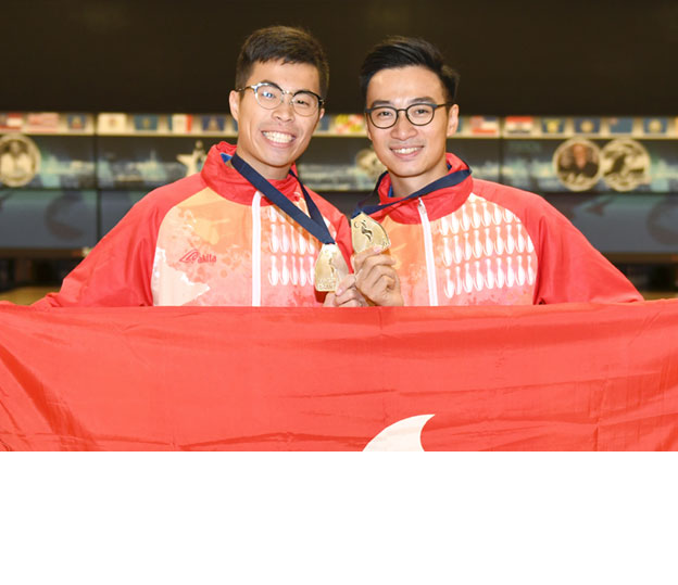 <a class='boldnavtext' href='results/wc2017-res.htm#DblFinal'>Hong Kong wins first-ever silver</a><span class='plaintext'><br><b>28th November, Las Vegas</b>: Lau Kwun Ho and Eric Tseng won Hong Kong's first-ever silver medal at the world championships after finishing second in the Men's Doubles final of the 2017 World Bowling Championships.