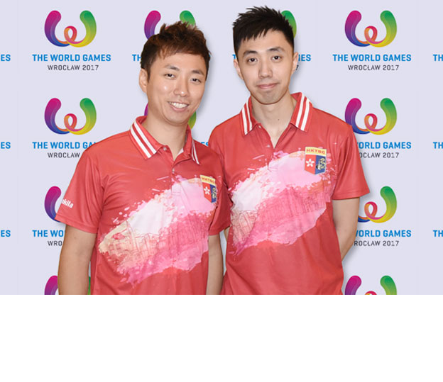 <a class='boldnavtext' href='results/wg2017-res.htm'>Bronze medal at World Games for Hong Kong</a><span class='plaintext'><br><b>24th July, Wroclaw, Poland</b>: 2009 World Games silver medallist, Wu Siu Hong partnered<br>Michael Mak to win the Men's Doubles bronze medal of the World Games Wroclaw 2017 for Hong<br>Kong at Sky Bowling Centre on Monday.
