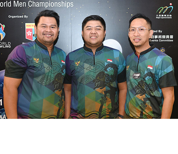 <a class='boldnavtext' href='results/wmc2018-res.htm#TriosSq1'>Indonesian trio leads opening squad</a><span class='plaintext'><br><b>29th November, Hong Kong</b>: 2017 SEA Games Team silver medallists and Indonesia's first trio of Ryan Lalisang, Billy Muhammad Islam and Hardy Rachmadian led from start to finish to lead the first squad of the Trios at the 2018 CGSE &#149; Million Tinkle World Men Championships.